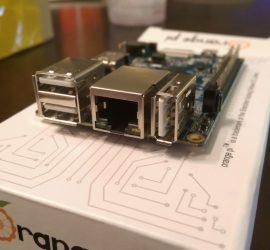 Orange Pi PC USB and Ethernet Ports